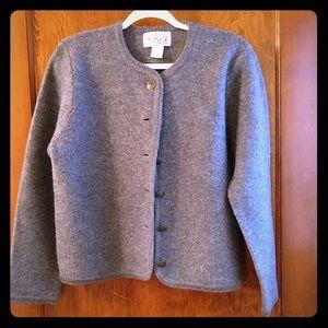 Vintage Tally Ho 100% wool sweater
